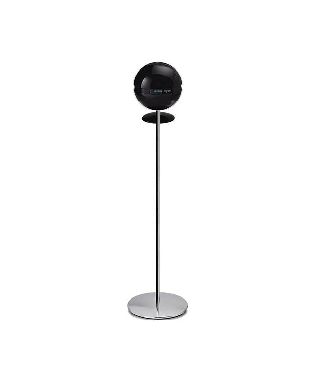 Sfera stand with pedestal black - Bioxigen