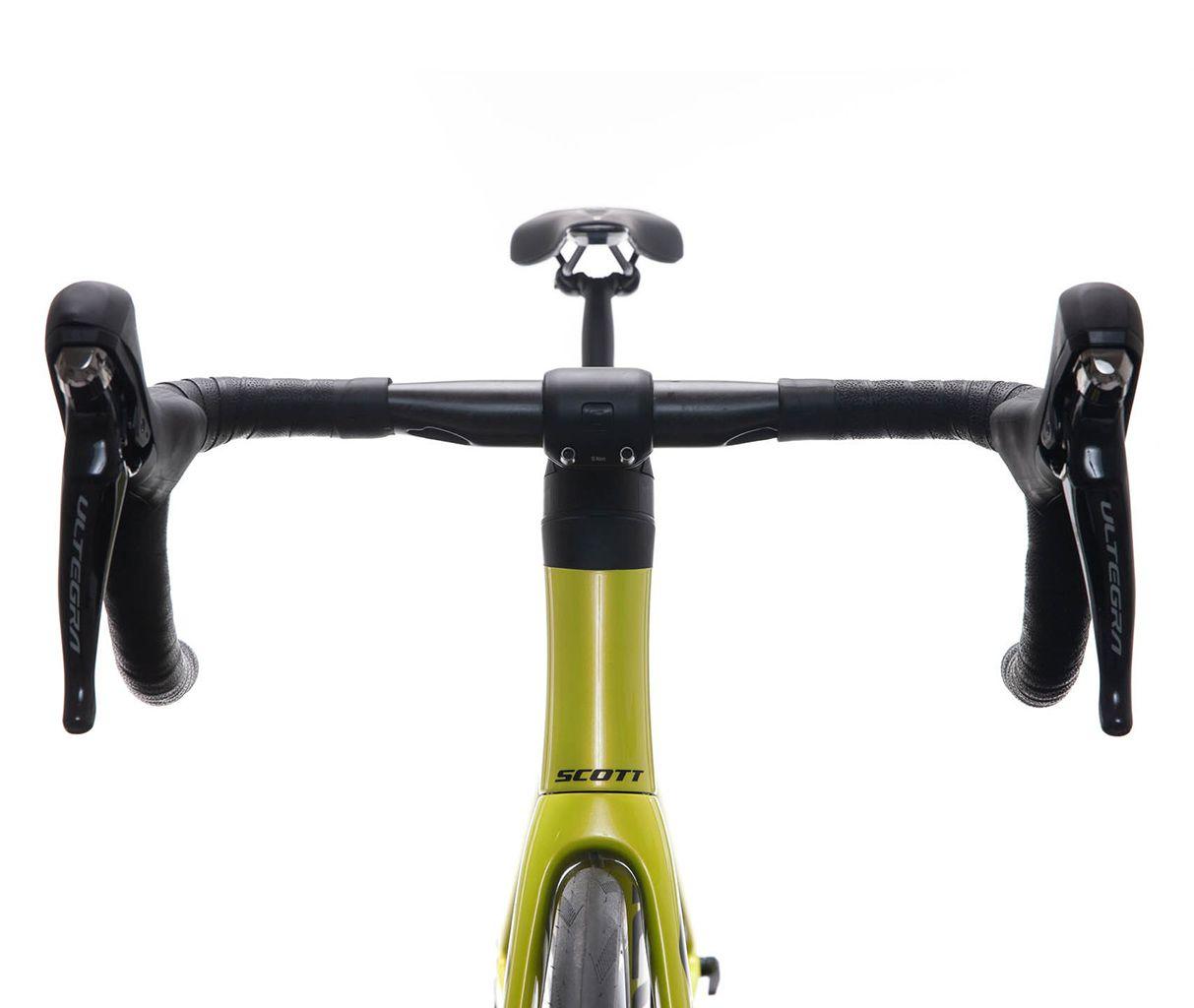 Bici strada Bicicletta Scott Addict RC 30 Yellow