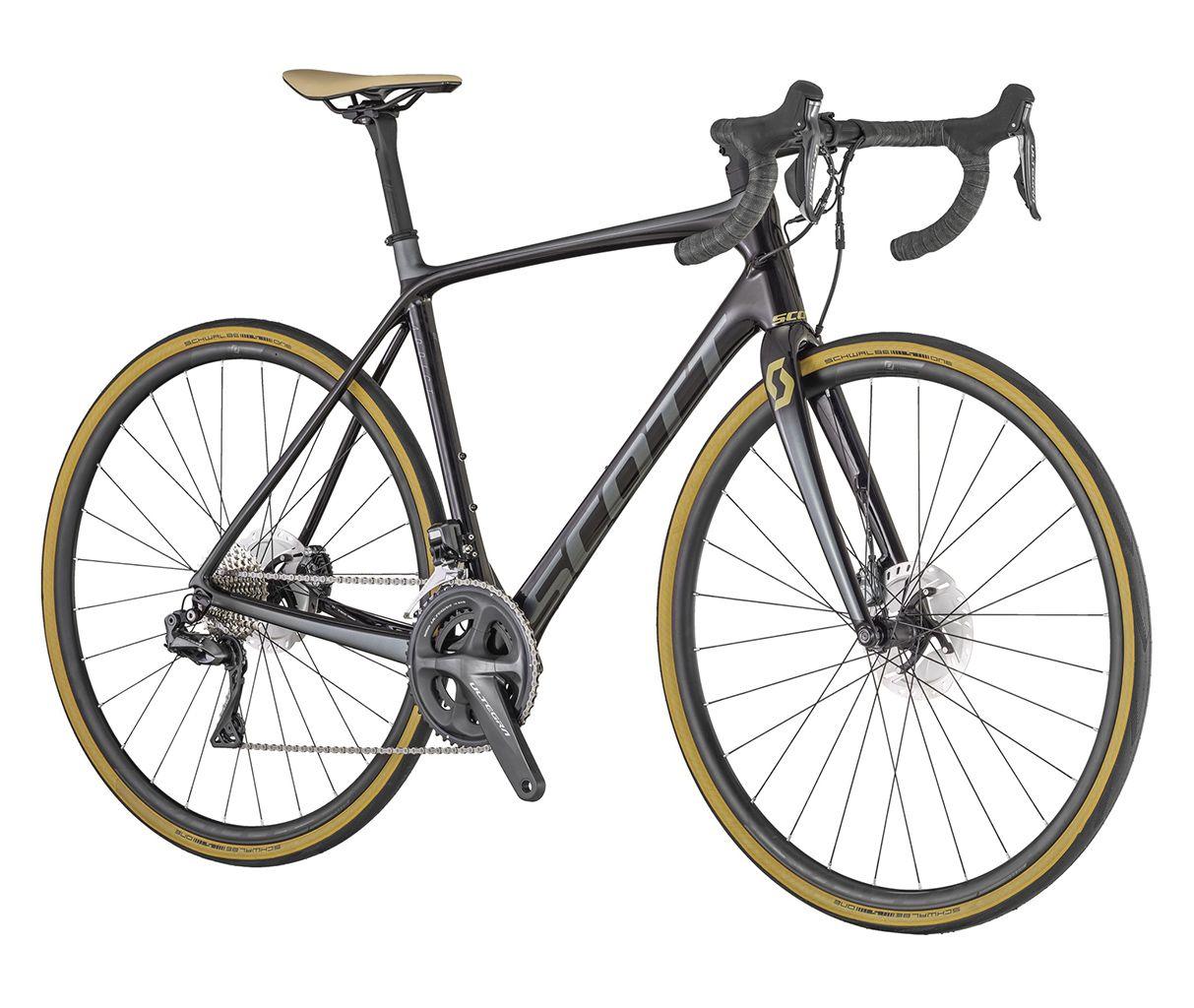Bici strada Bicicletta Scott Addict SE Disc